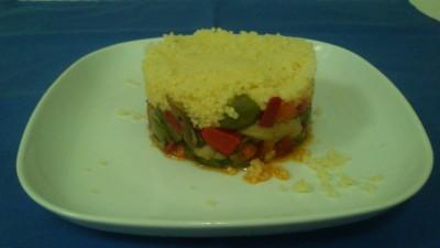 cuscus con verdura