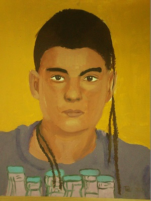 Retrato Rubén