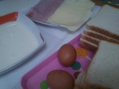 Sandwiches Rebozados