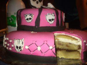 Tarta Monster High 2