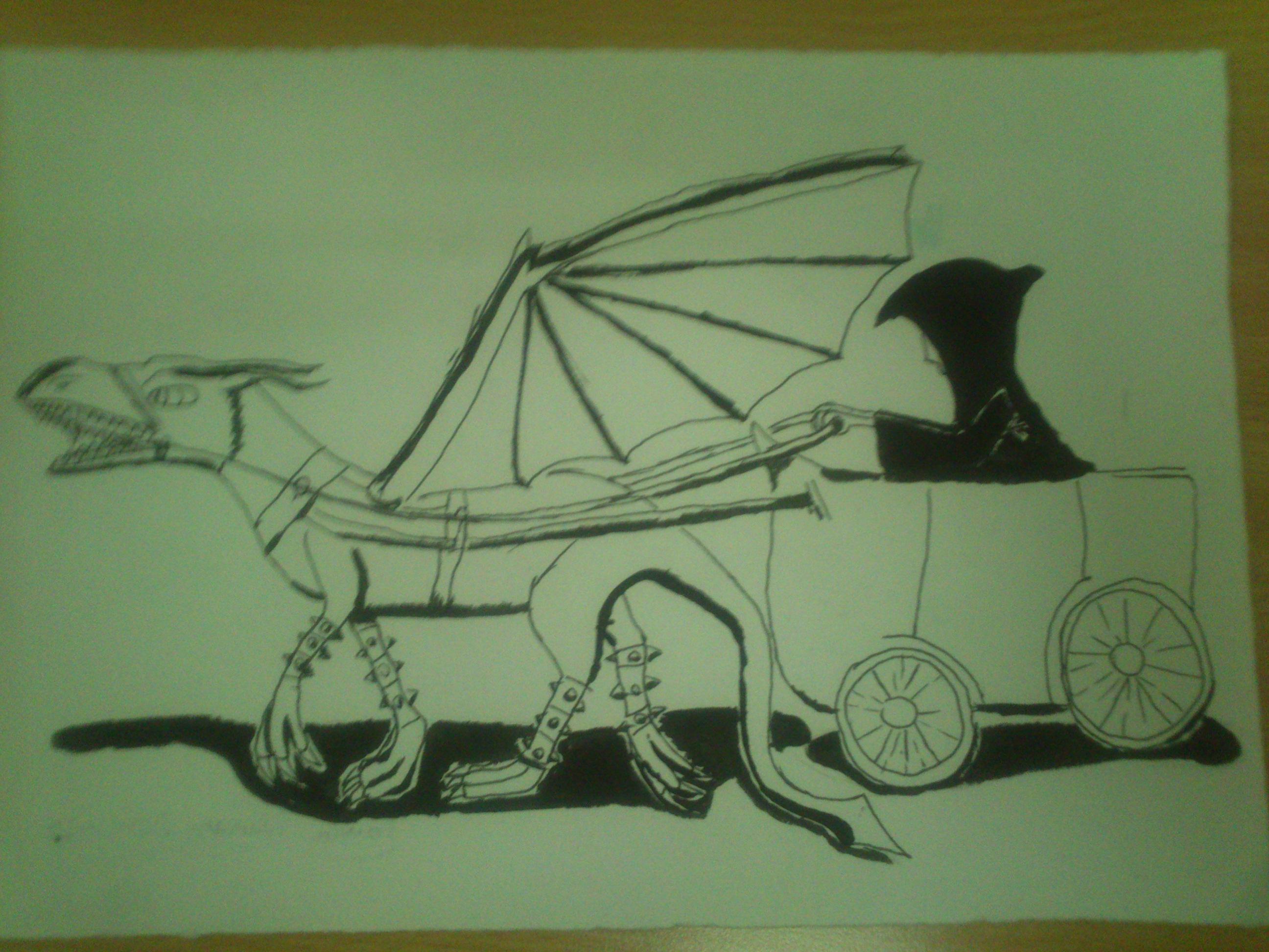 Dibujo a tinta china