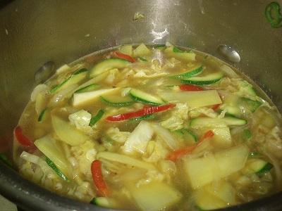Verduras y huevos codorniz (3)