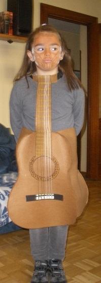 Disfraz gitarra