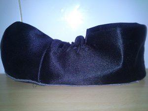 Lateral zapato payaso
