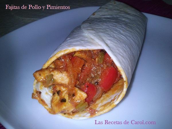 Fajita de pollo y pimientos (12)