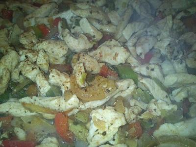 Fajita de pollo y pimientos (5)