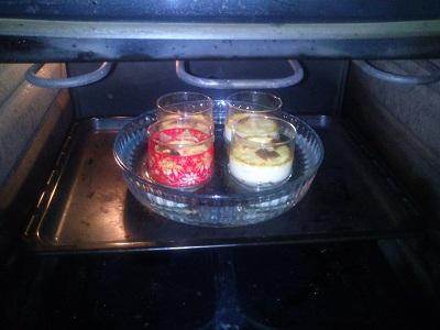 Baño Maria en el horno
