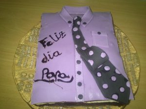 Tarta Camisa de Fondant