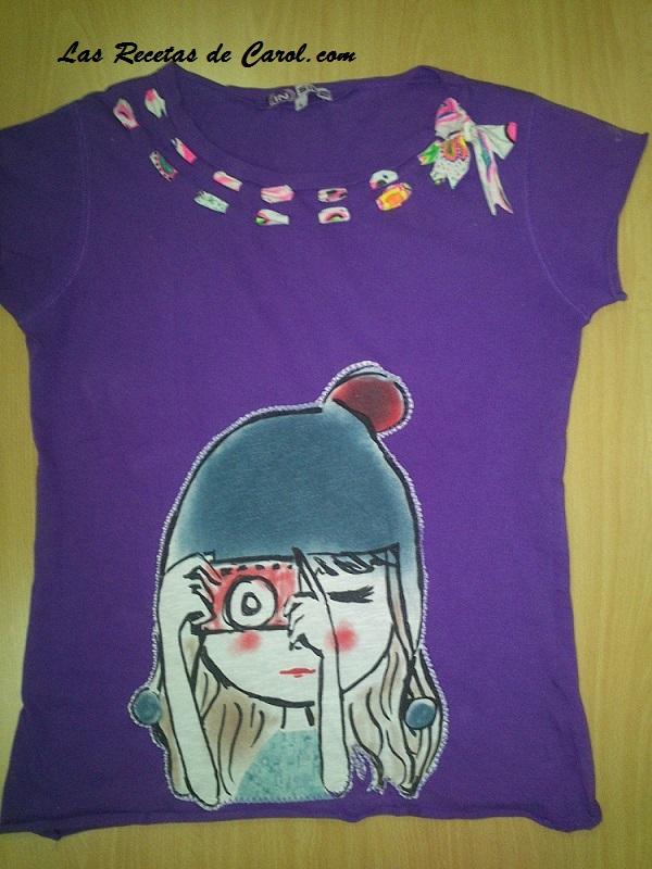 Camiseta recicllada