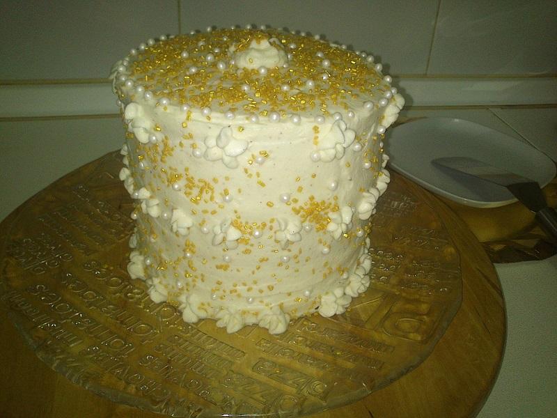 Tarta de Zanahoria y cardamomo