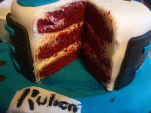 Tarta cumpleaños cocinero