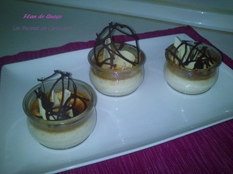Flan de queso de Paco Torreblanca