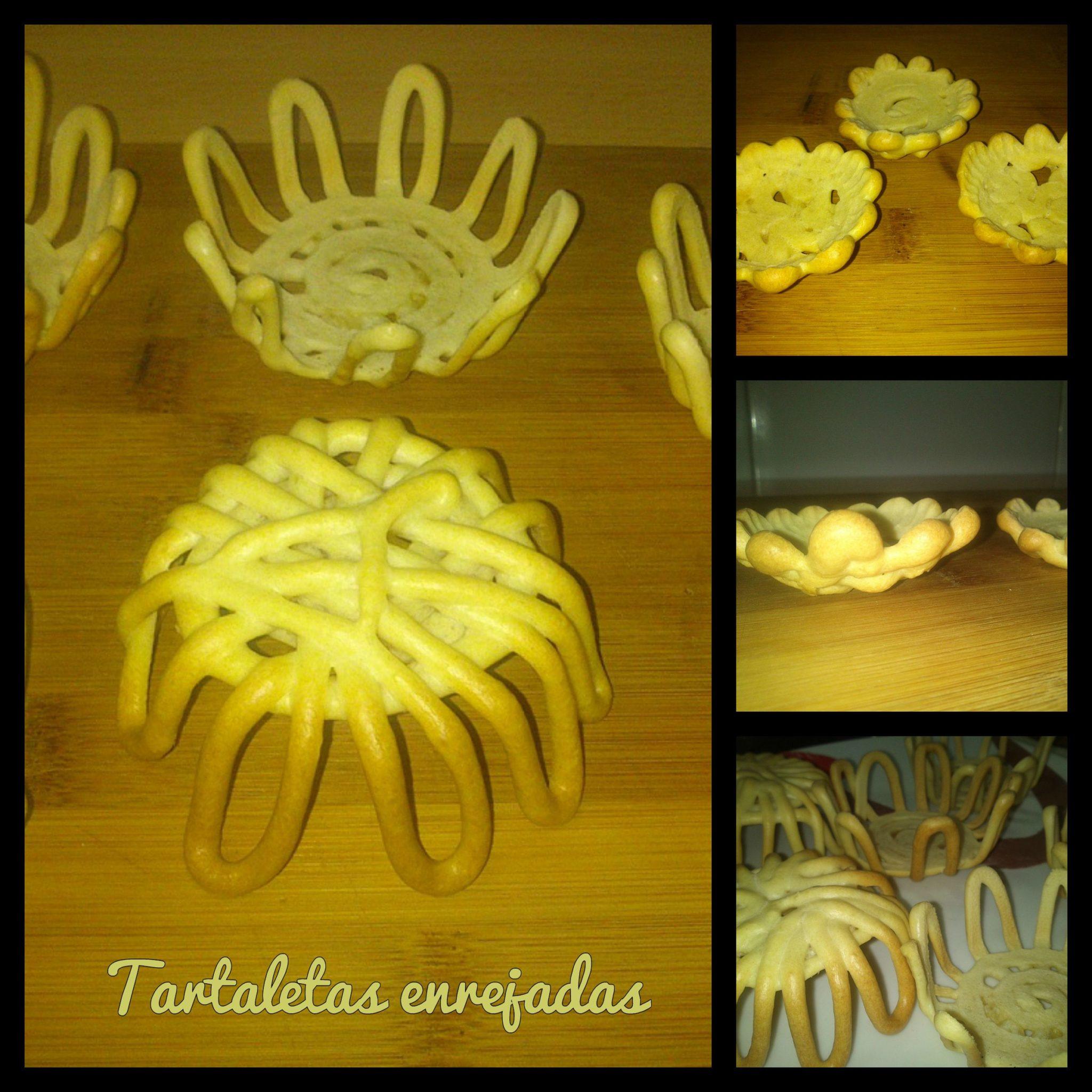 Tartaletas enrejadas