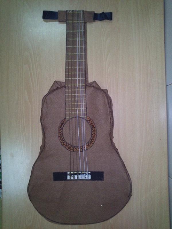 Disfraz de guitarra