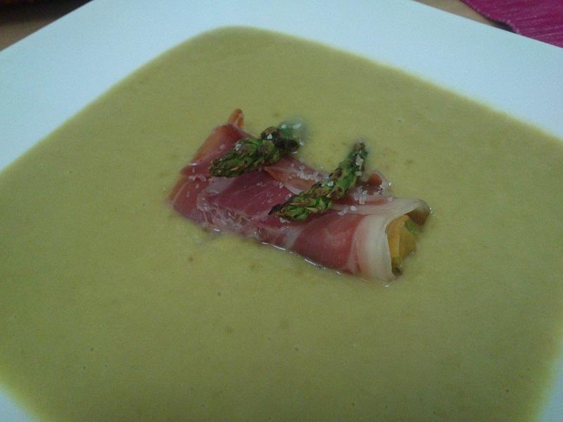 Sopa de esparragos trigueros (6)