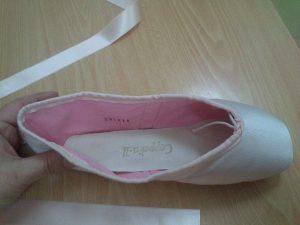 Coser cintas en Puntas ballet (6)