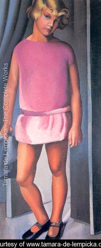 Retrato de Kizette de Tamara de Lempicka