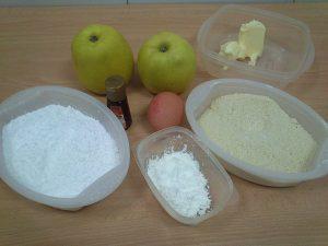 Tarta de manzana con crema de almendras (15)