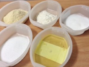 Pastel ruso ingredientes