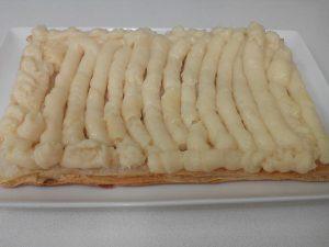Milhojas con glaseado de fondant (7)
