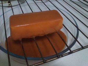 Mousse de crema catalana con glaseado de caramelo (6)
