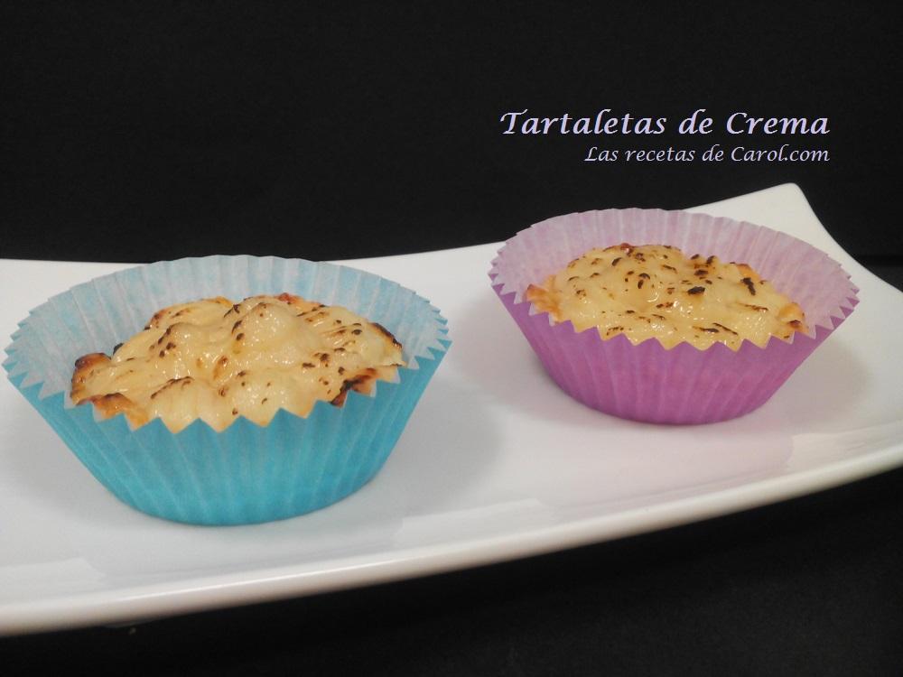 Tartaletas de crema (2)
