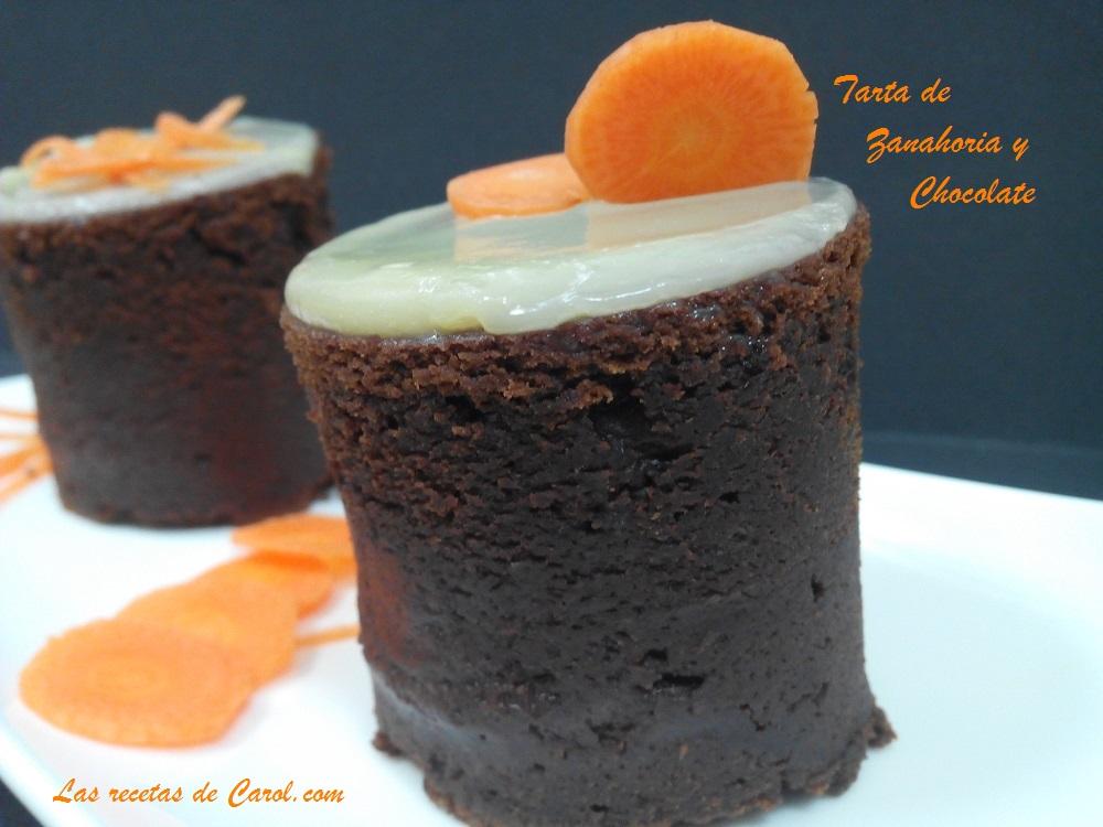 Tarta de Zanahoria y chocolate