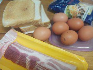 Tosta de Beicon y Huevo al Horno (15)