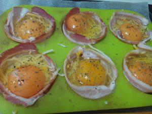 Tosta de Beicon y Huevo al Horno (7)