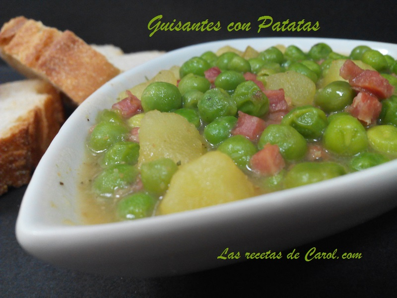 Guisantes con patatas (2)