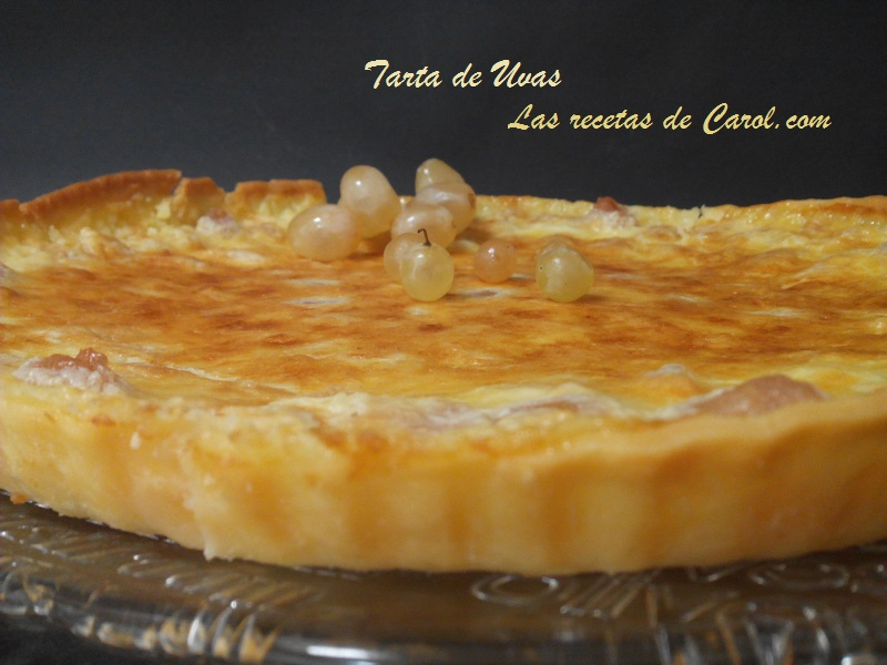 Tarta de Uvas