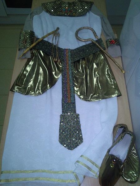 Disfraz casero egipcia