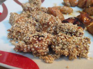 Brochetas de pollo  con soja (13)