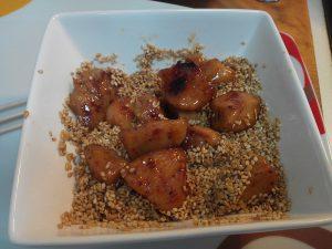 Brochetas de pollo  con soja (5)