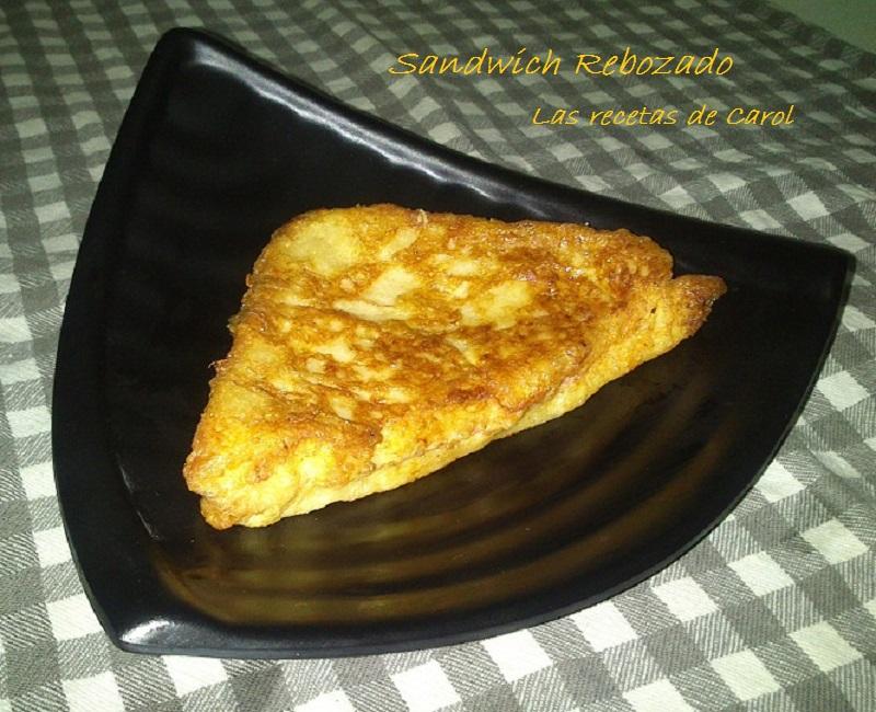 Sandwiches rebozados (2)