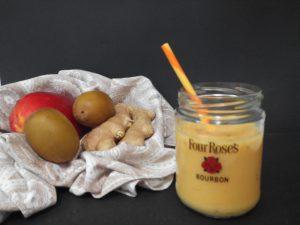 Smoothie de Mango y leche de soja con jengibre (2)