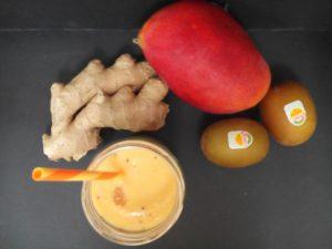 Smoothie de Mango y leche de soja con jengibre (3)