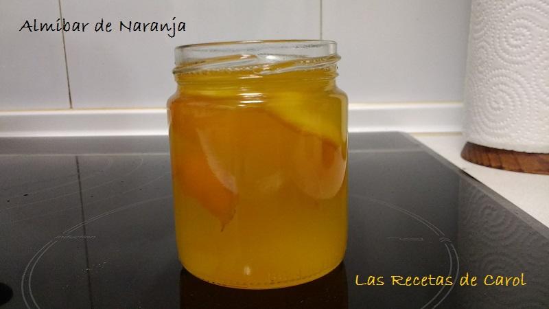 Almibar de naranja