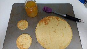 Bizcocho genovesa de naranja (2)