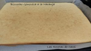 Bizcocho genovesa de naranja (3)