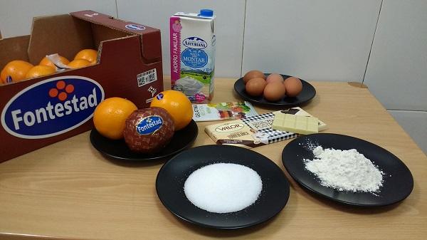 Mousse de chocolate, crema de naranja y glaseado (13)