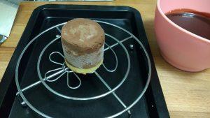 Mousse de chocolate, crema de naranja y glaseado (6)