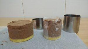 Mousse de chocolate, crema de naranja y glaseado (7)