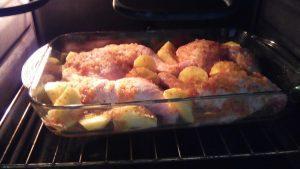 Pollo al horno con patatas (5)