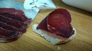 Cono de Cecina, queso y frutos secos (4)
