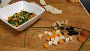 Cono de Cecina, queso y frutos secos (7)