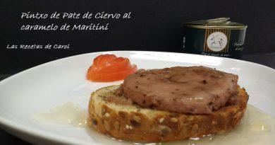 Paté de ciervo al martini (2)