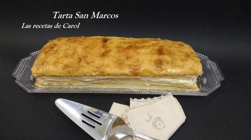 Tarta tradicional San Marcos