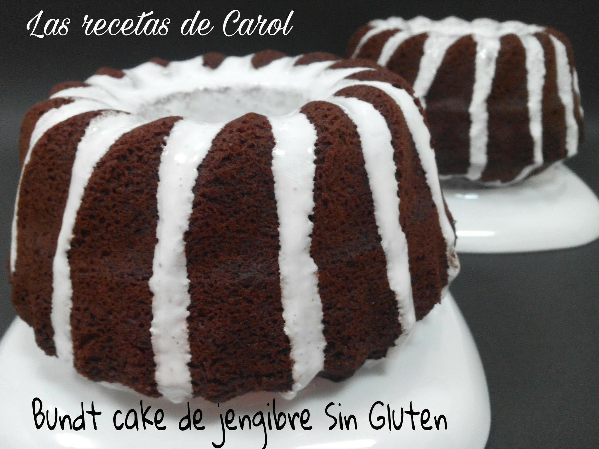 Bundt Cake de Jengibre