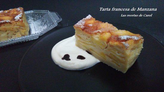 Tarta francesa de manzana